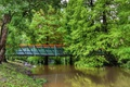 Картинка зелень, деревья, мост, пруд, парк, Австралия