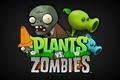 Картинка надпись, Plants vs zombies, Растения против зомби