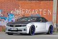 Картинка авто, граффити, тюнинг, Chevrolet, Camaro, кирпичная стена