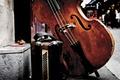 Картинка музыка, улица, иструменты