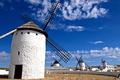 Картинка небо, ветряная мельница, Испания, облака